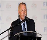 أبوريدة يهنئ منتخب مصر بالصعود لأمم إفريقيا