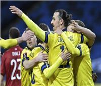 «إبراهيموفيتش» يساهم في فوز السويد على جورجيا بتصفيات المونديال