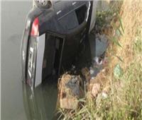 بالأسماء| مصرع وإصابة 4 أشخاص في انقلاب سيارة بترعة المحمودية بالبحيرة