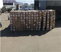 إحباط تهريب بضائع أجنبية وتنفيذ 211 حكمًا قضائيًا