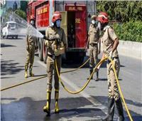 الهند: مصرع 10 أشخاص في حريق ضخم بمستشفى يعالج مرضى كورونا