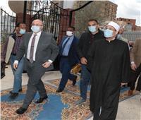 وزير الأوقاف يلقي خطبة الجمعة في بني سويف