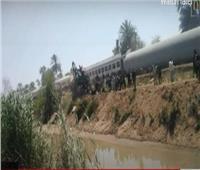 شاهد| تفاصيل جديدة لتصادم قطاري طهطا في سوهاج