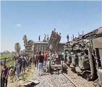 """""""السكة الحديد"""": مجهول سحب """"بلف الخطر"""" وتسبب في حادث تصادم قطاري سوهاج"""