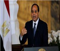 الرئيس السيسي: توفير التعويض اللائق لأسر شهداء وضحايا حادث قطار سوهاج