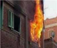 حريق هائل يلتهم شقة سكنية المنيا