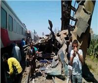 الصحة: 108 مصابين و 32 وفاة في حادث قطار بسوهاج