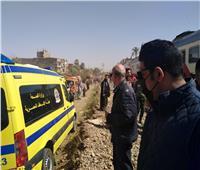 ننشر أسماء 20 مصابًا من قنا في حادث تصادم قطار سوهاج
