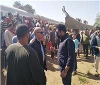 الحزن يخيم على أسيوط بعد مصرع شخصين وإصابة 12 آخرين بحادث قطار سوهاج