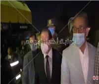 النائب العام وفريق التحقيق يصلوا موقع حادث قطار سوهاج | فيديو