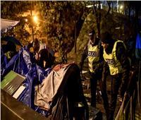 «خيام اللاجئين» تعود إلى وسط باريس   فيديو