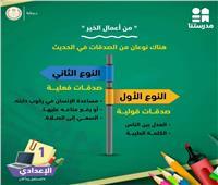 لطلاب أولي إعدادي.. تعرفوا علي نوعان من الصدقات في اللغة العربية