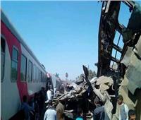 خاص | انتهاء رفع حطام قطاري سوهاج استعدادًا لاستئناف حركة القطارات