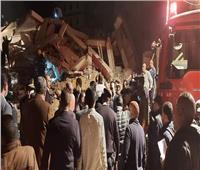 أمن القاهرة يفرض كردونًا في محيط عقار جسر السويس المنهار