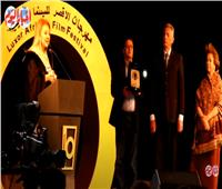 نادية الجندي خلال تكريمها بمهرجان الأقصر: دفعة لمسيرتي الفنية| فيديو