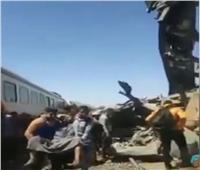 أسيوط تودع «جابر وعبدالحميد» ضحايا حادث قطار سوهاج
