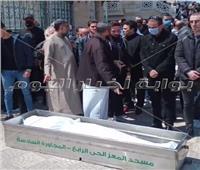 تشيع جثمان المخرج هاني إسماعيل إلى مثواه الأخير.. صور