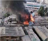 مصدر بـ«السكة الحديد» يكشف تفاصيل حريق محيط محطة قطارات الزقازيق