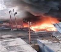 «السكة الحديد»: حركة القطارات لم تتأثر بحريق نفق محطة الزقازيق