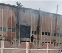 اشتعال النيران بمصنع نفرتيتي في «العاشر من رمضان»