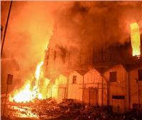حريق فى «تشوينات ورق» بمصنع فى العاشر