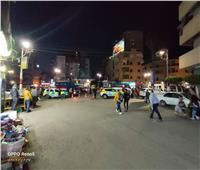 غلق طريق المشأة المؤدي إلى نفق عرابي بالزقازيق