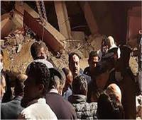 الصحة: ارتفاع عدد الوفيات 16 حالة و25 مصابافي انهيار عقار جسر السويس