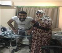 بعد اصابته في النخاع الشوكي.. الشاب صلاح ينتظر العلاج على نفقة الدولة
