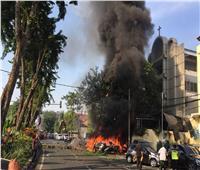 انفجار أمام كاتدرائية في إندونيسيا بأحد الشعانين