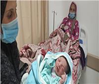 «محمد» أول مولود تحت مظلة التأمين الصحي الشامل بالأقصر