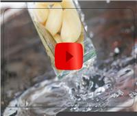 فيديوجراف.. 8 فوائد صحية لـ«ماء الثوم»