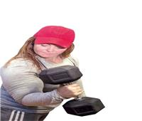 إيمان حجاب تسعى للقب أقوى امرأة فى العالم