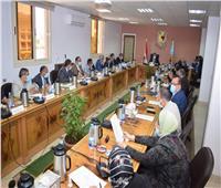 مجلس جامعة سوهاج يوافق على تطبيق معايير استخدام حيوانات التجارب