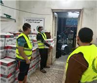 رئيس «ملوي» بالمنيا يشهد توزيع كراتين صندوق «تحيا مصر».. صور