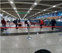 خاص | انتظام حركة السفر في مطار القاهرة.. صور