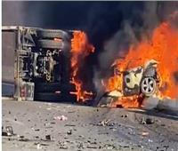 نيابة السويس تحقق في حادث تصادم سيارة ملاكي بنقل في طريق الجلالة