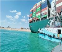 قاطرات الهيئة العامة لموانئ البحر الأحمر تشارك في جهود تعويم السفينة الجانحة