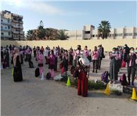 امتحان مجمع لصفوف النقل في شمال سيناء