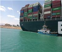 فيديو.. اللحظات الأولى لتحريك السفينة الجانحة بقناة السويس