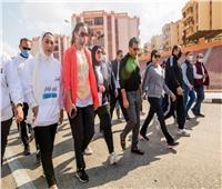 نائبات مصريشدن باليوم الرياضي للمرأة المصرية برعاية قرينة الرئيس