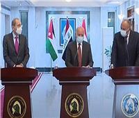 وزير خارجية العراق: بحثنا التعاون الاقتصادي والربط الكهربائي مع مصر والأردن