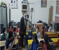 وكيل تعليم أسوان يترأس لجنة لمتابعة مجموعات التقوية بالمدارس
