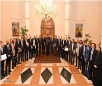 البابا تواضروس يستقبل مجموعة من رجال الأعمال