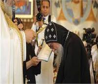 الأنبا فام يترأس أول قداس مع كهنة إيبارشية شرق المنيا