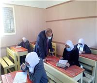 وكيل تعليم مطروح يتفقد سير امتحانات شهر مارس | صور