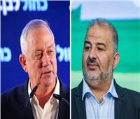 جانتس يطلب من منصور عباس دعم مرشح «كتلة التغيير» لرئاسة الحكومة الإسرائيلية