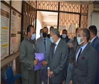 محافظ المنيا يتابع استقبال المراكز التكنولوجية لطلبات التصالح في مخالفات البناء