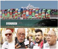 المصريون لرجال قناة السويس بعد تعويم السفينة.. «والله وعملوها الرجالة»
