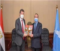 محافظ الإسكندرية يبحث مع سفير بلجيكا توطيد العلاقات الثنائية