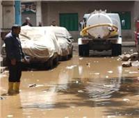 حي الطالبية يستجيب لشكوى المواطنين من انفجار الصرف الصحي